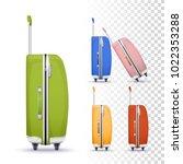 vector photo realistic... | Shutterstock .eps vector #1022353288