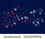american patriotic design ... | Shutterstock .eps vector #1022359996