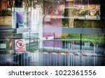 abstract multi layered... | Shutterstock . vector #1022361556