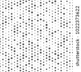 black and grey polka dots... | Shutterstock .eps vector #1022373622