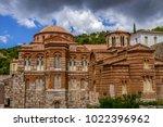 the famous monastery of hosios...