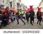 ljubljana  slovenia on february ...   Shutterstock . vector #1022402182