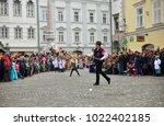 ljubljana  slovenia on february ...   Shutterstock . vector #1022402185