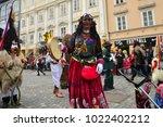 ljubljana  slovenia on february ...   Shutterstock . vector #1022402212