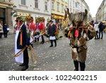 ljubljana  slovenia on february ...   Shutterstock . vector #1022402215