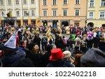 ljubljana  slovenia on february ...   Shutterstock . vector #1022402218