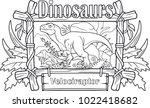 carnivorous velociraptor ...   Shutterstock .eps vector #1022418682