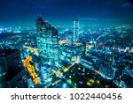asia business concept for real... | Shutterstock . vector #1022440456