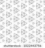 seamless ornamental vector... | Shutterstock .eps vector #1022443756