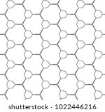 seamless ornamental vector... | Shutterstock .eps vector #1022446216