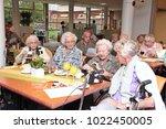 the hague  the netherlands  ... | Shutterstock . vector #1022450005