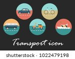 transport retro icon   Shutterstock .eps vector #1022479198