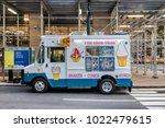 new york city  usa   june 12 ...   Shutterstock . vector #1022479615