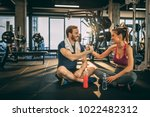 workout with you always is... | Shutterstock . vector #1022482312