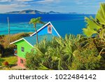 Colorful Typical Houses On...