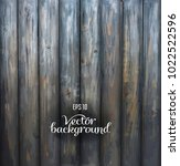 rustic wood plank gray vintage... | Shutterstock .eps vector #1022522596