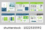brochure creative design.... | Shutterstock .eps vector #1022535592