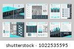 brochure creative design.... | Shutterstock .eps vector #1022535595