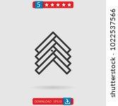 parquet vector icon | Shutterstock .eps vector #1022537566