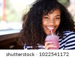 close up portrait of beautiful... | Shutterstock . vector #1022541172
