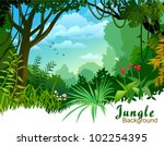 Amazon Jungle Trees And...