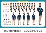 people character business set.... | Shutterstock .eps vector #1022547928