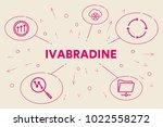 conceptual business... | Shutterstock . vector #1022558272
