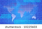 binary world   global... | Shutterstock . vector #10225603