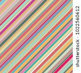 multi colored diagonal stripes... | Shutterstock . vector #1022560612