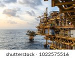 oil and gas central processing...   Shutterstock . vector #1022575516
