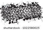 vector trail design  trace of...   Shutterstock .eps vector #1022580025