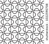seamless intersecting geometric ... | Shutterstock .eps vector #1022590708