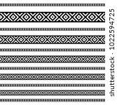 decoration patterns in black... | Shutterstock .eps vector #1022594725