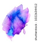 colorful abstract watercolor... | Shutterstock .eps vector #1022634412