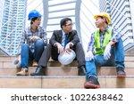 team engineer have work hard in ... | Shutterstock . vector #1022638462