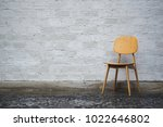 conceptual empty wooden leg... | Shutterstock . vector #1022646802