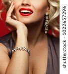 girl's best friends and femme... | Shutterstock . vector #1022657296