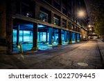 Dark City Downtown Street Road...