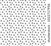 seamless triangle pattern... | Shutterstock .eps vector #1022717956