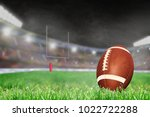 american football on field... | Shutterstock . vector #1022722288