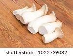 fresh cultivated eringi... | Shutterstock . vector #1022739082