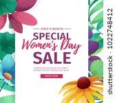 banner for sale international ...   Shutterstock .eps vector #1022748412