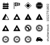solid vector icon set   sign...   Shutterstock .eps vector #1022751802