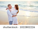 romantic vacation. love and... | Shutterstock . vector #1022802226