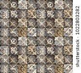 ethnic seamless pattern.... | Shutterstock .eps vector #1022803282