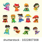 cartoon vector illustration of... | Shutterstock .eps vector #1022807308