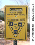 Small photo of Caution Reduce Speed Before Proceeding Sign