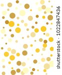 gold background. gold circles... | Shutterstock .eps vector #1022847436