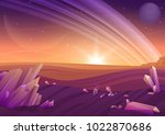 fantasy alien landscape ...