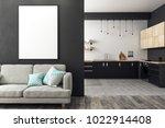 modern studio interior with...   Shutterstock . vector #1022914408